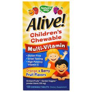 Childrens Chewable Multivitamin