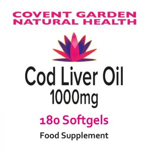 Cod Liver Oil – 180 Softgels
